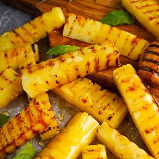 Airfryer Honey Glazed Pineapple Fries
