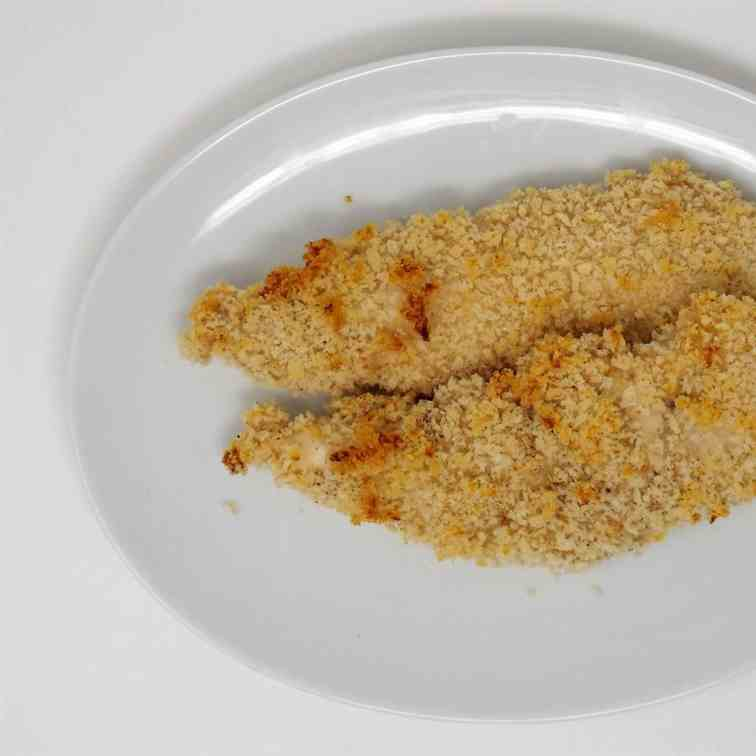 Crispy Baked Buttermilk Chicken Tenders