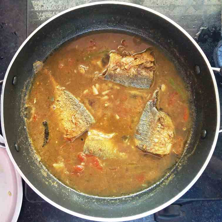 Mackerel Curry - another version