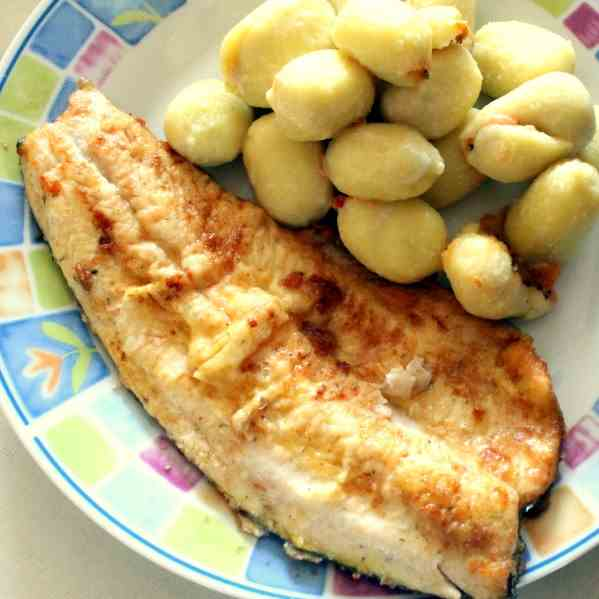 Crispy fried Trout Fillets