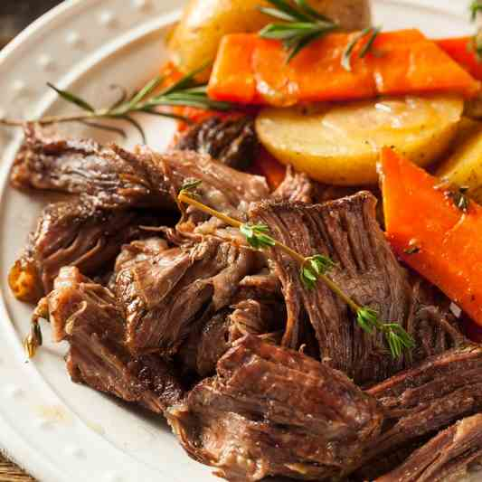 whole 30 Beef Pot Roast in the Instant Pot