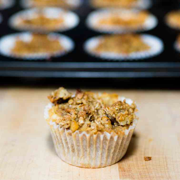 Apple Cobbler Muffins