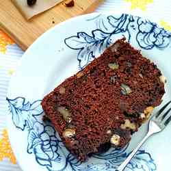 Date and Chocolate Loaf Cake