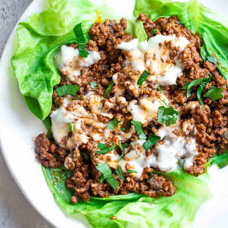 Low Carb Keto Sloppy Joes