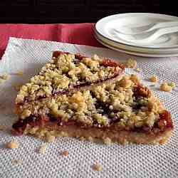 Blackcurrant Oat Bars