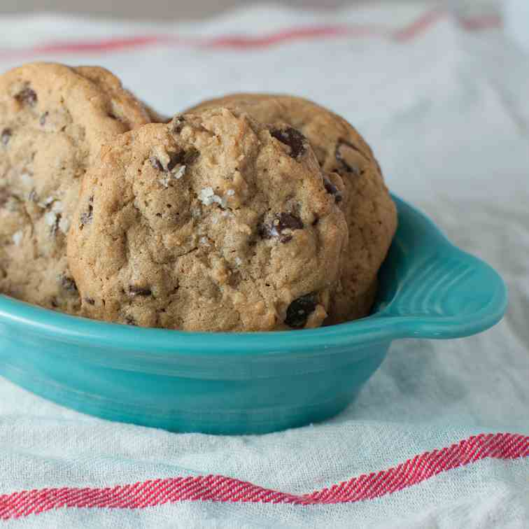 crave-worthy chocolate chip cookies