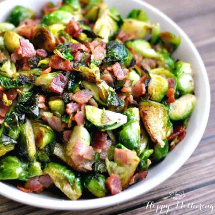 Bacon - Brussels Sprouts Side Dish