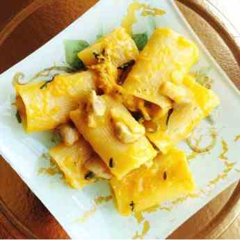 Paccheri Pasta with Roasted Pumpkin