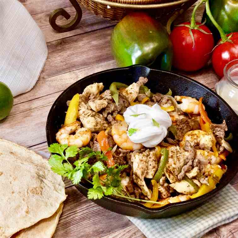 Texas Fajitas, Keto - Low Carb