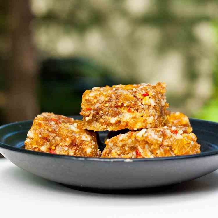 Dried Fruit and Nut Bars