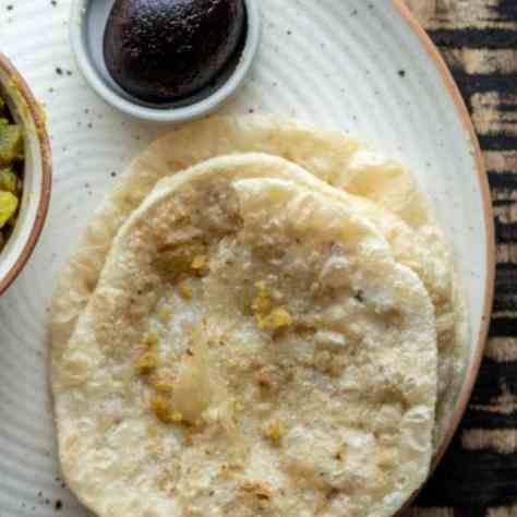 Daal Puri - Deep Fried Flat Bread