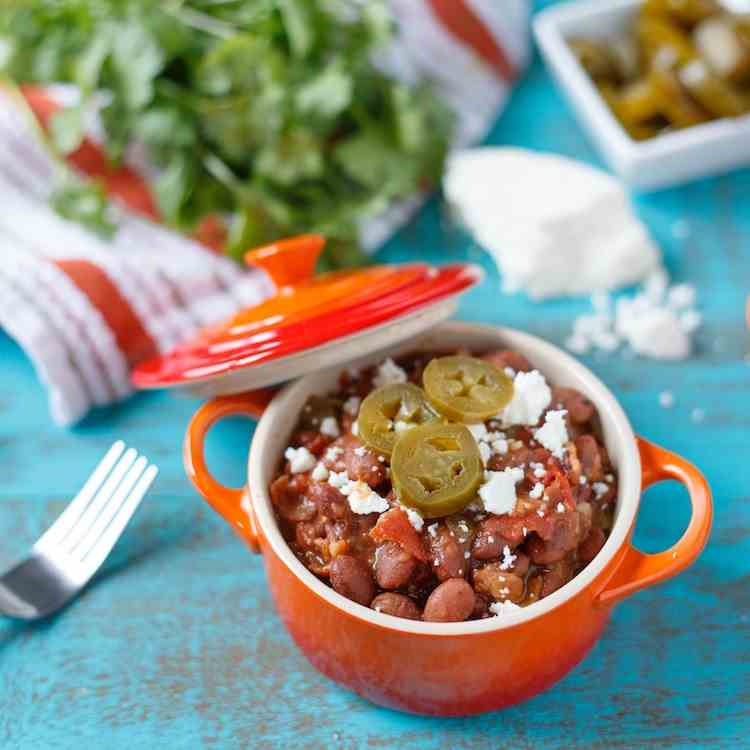 Home-Cooked Cowboy Beans