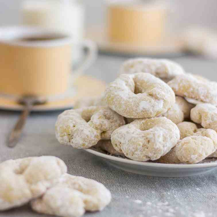 White Wine Cookies
