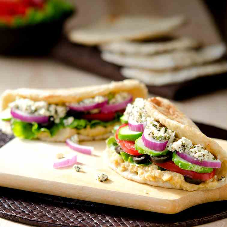 Greek Veggie Pita
