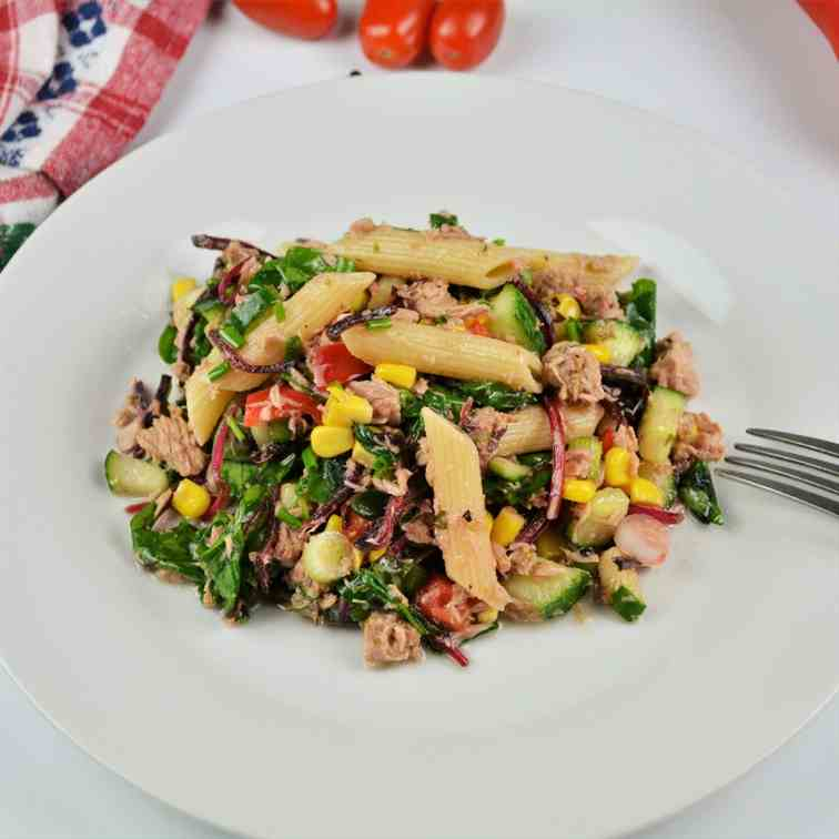 Simple Tuna and Pasta Salad Recipe