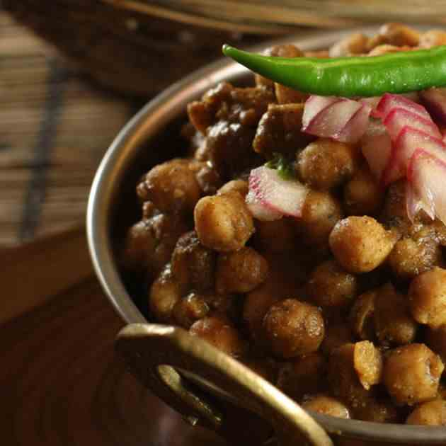 Chana Kulcha Recipe
