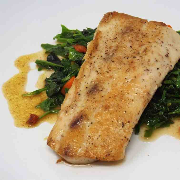 Mahi Mahi with Coriander Brown Butter