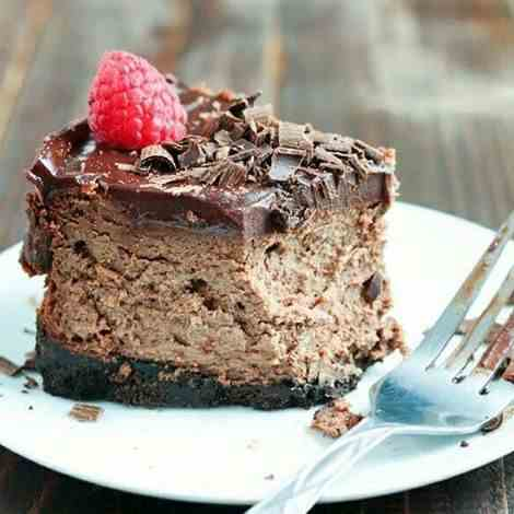 To Die For Triple Chocolate Cheesecake