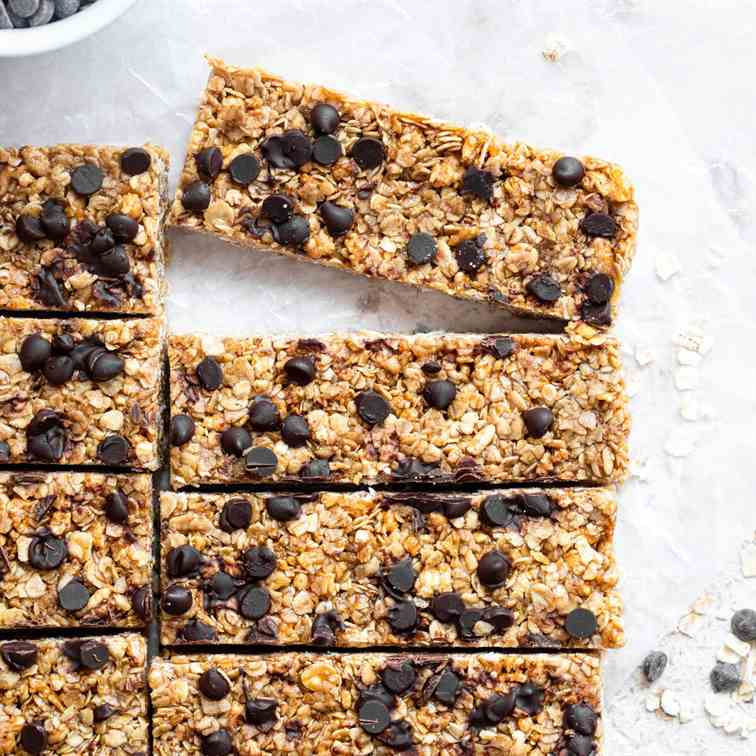 Healthy Chewy Granola Bars