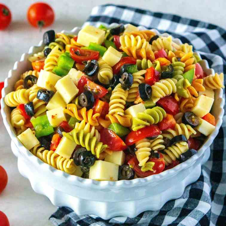 Copycat Deli Counter Pasta Salad