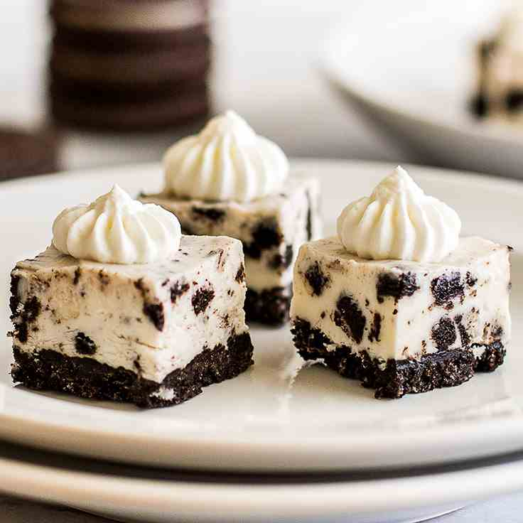 Small-batch No-bake Oreo Cheesecake Bites