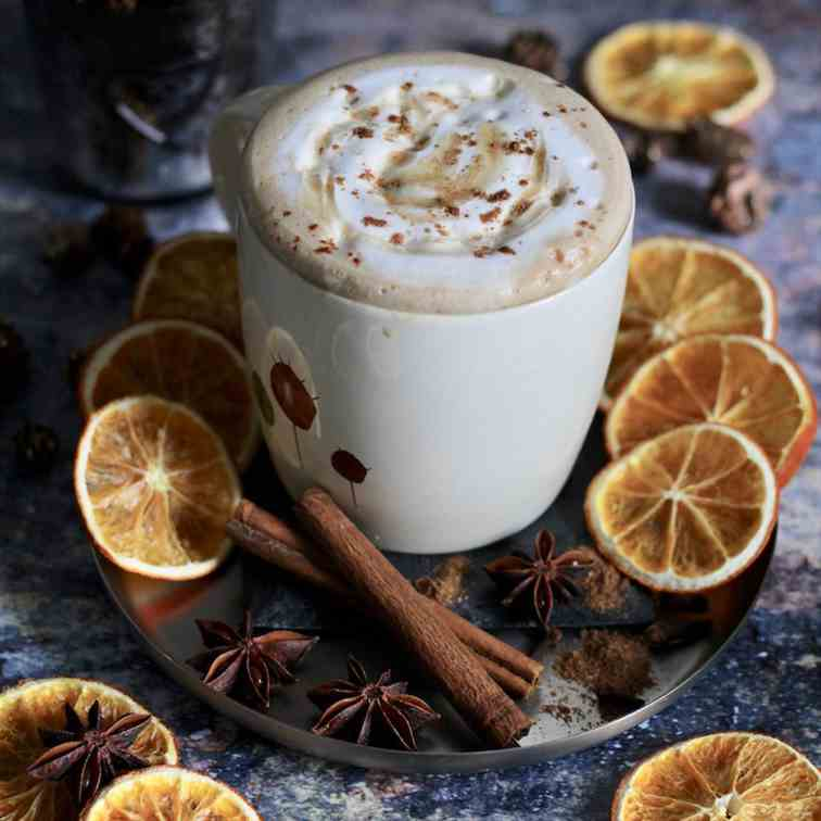 Skinny Gingerbread Latte