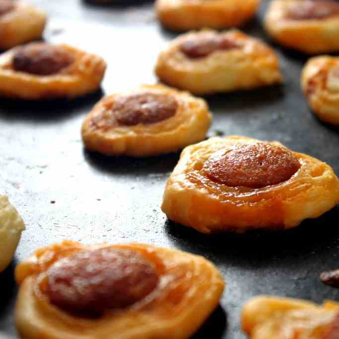 Sausage in Puff Pastry