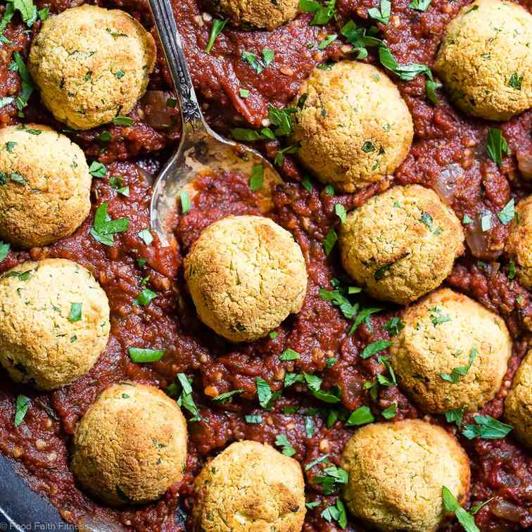 Healthy Vegan Chickpea Meatballs