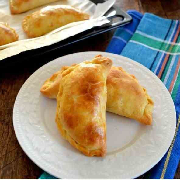 CORN AND GOAT CHEESE EMPANADAS