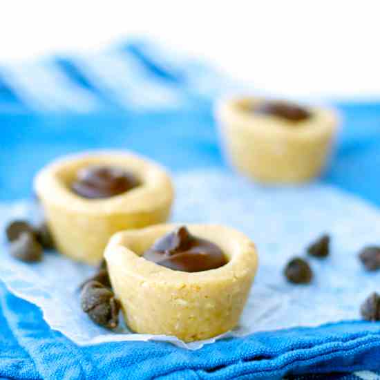 No Bake Peanut Butter Cookie Cups
