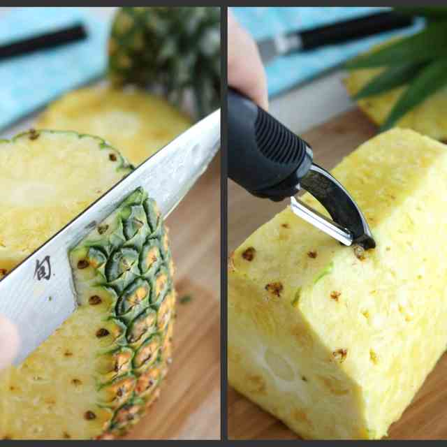 How to: Choose & Cut  a Pineapple