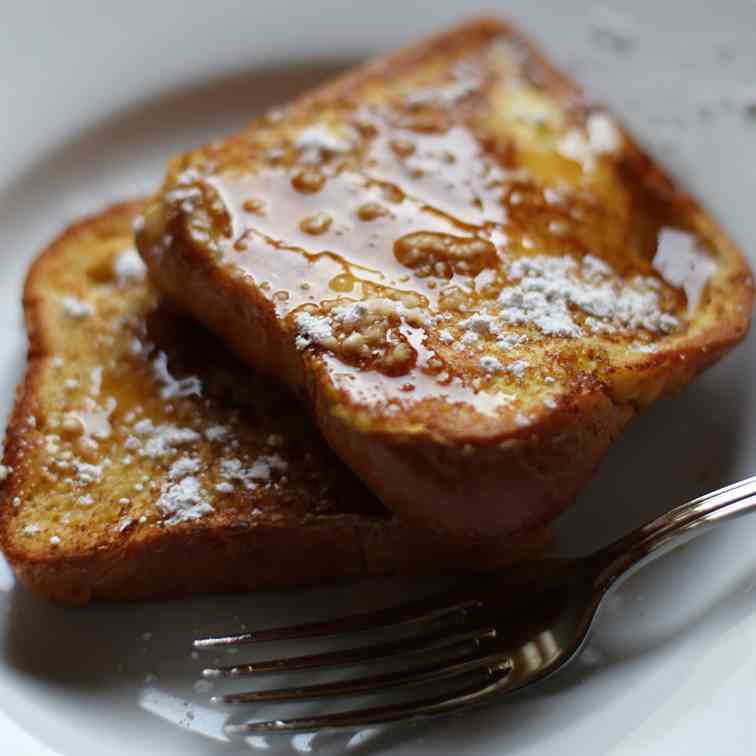 Browned Butter Brioche French Toast