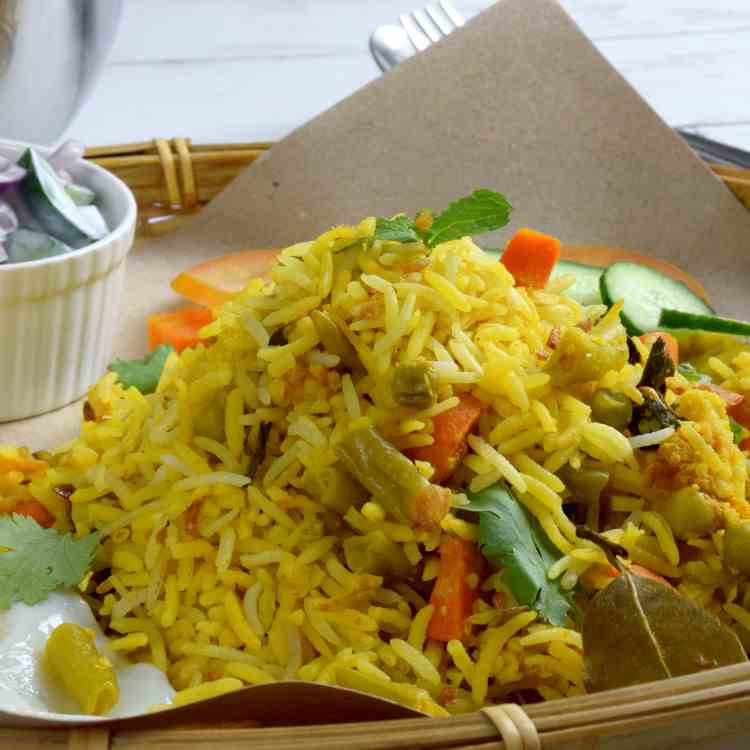 RECIPES Vegetable Biryani
