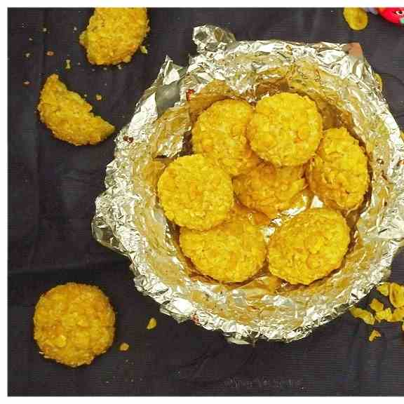 Eggless Whole  Wheat Cornflakes