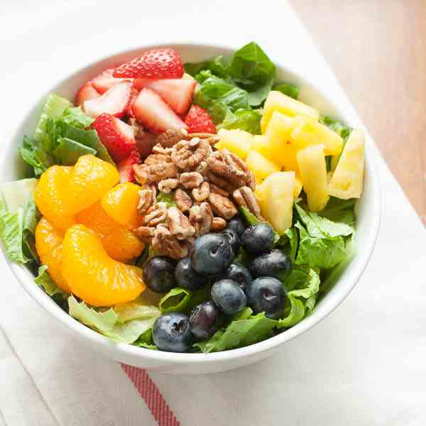 Summer Fruit and Poppyseed Salad