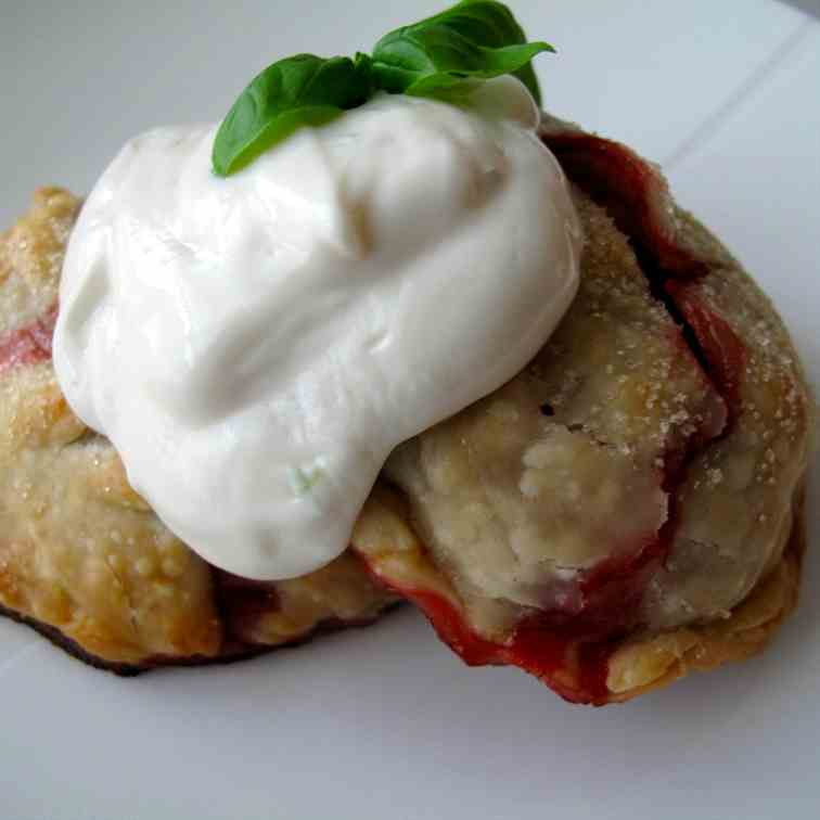 Fresh Lime, Basil, - Strawberry Hand Pies