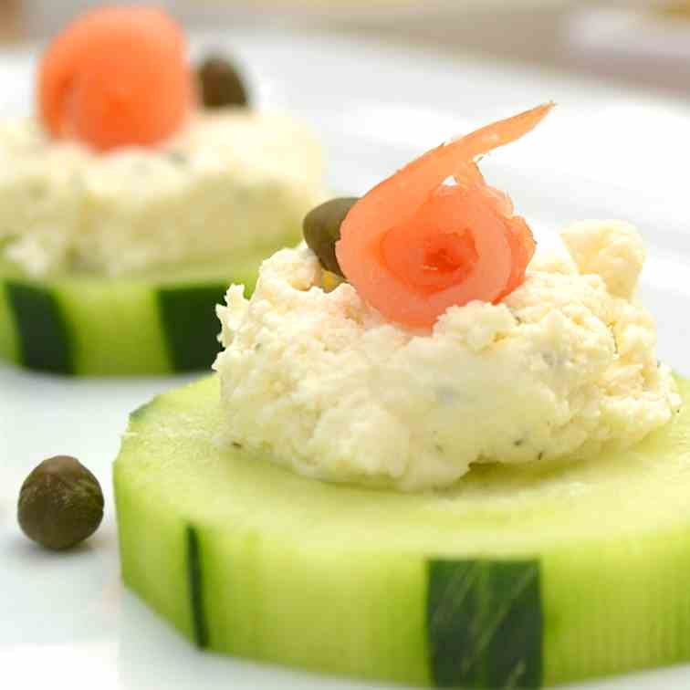 Cucumber Hors d'Oeuvres