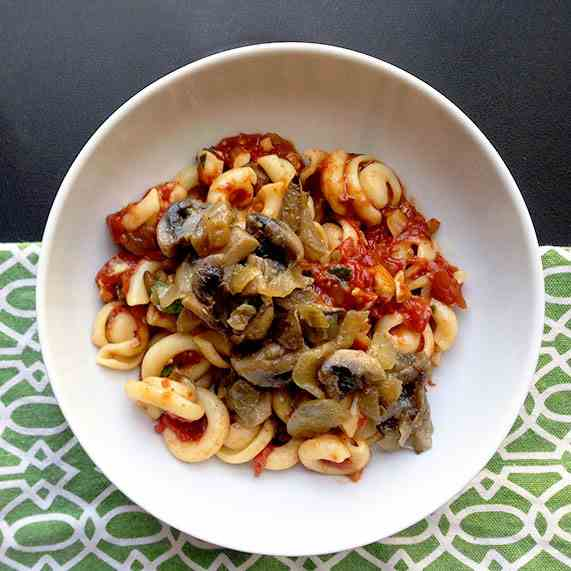 Cappelletti Pasta with Mushrooms