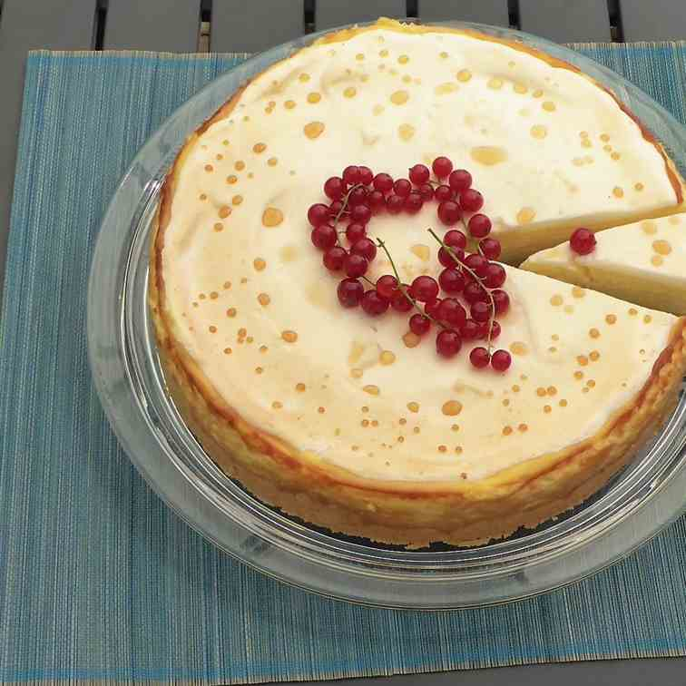 Best German - style cheesecake ever recipe