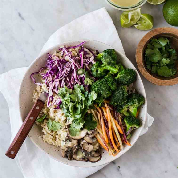 Green Curry Buddha Bowl
