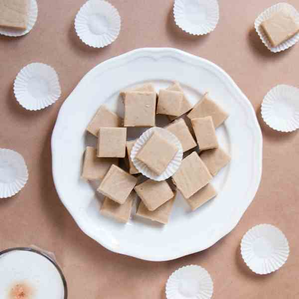 Chai Tea Fudge
