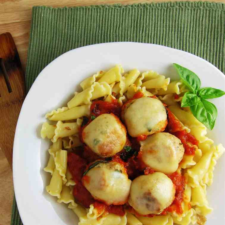 Cheese Chicken Meatballs