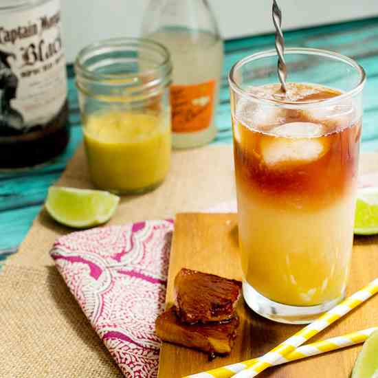 Pineapple Dark & Stormy