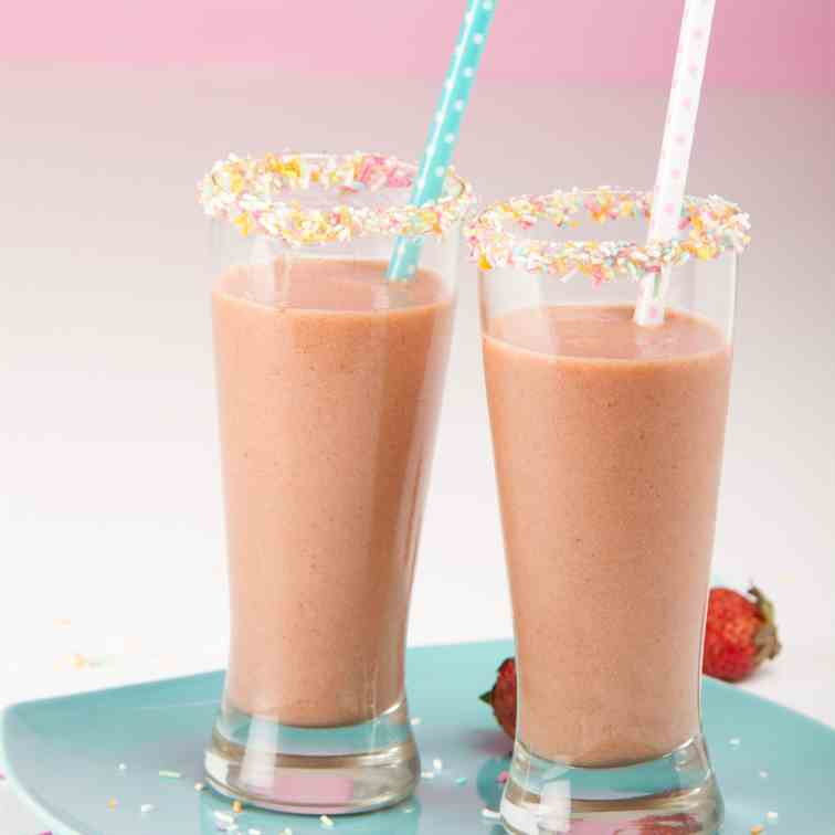 Strawberry Coffee Smoothie
