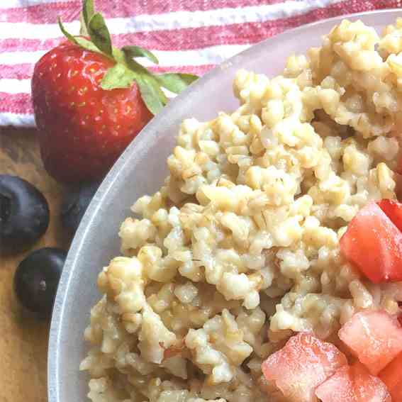 Steel Cut Oats Overnight Recipe