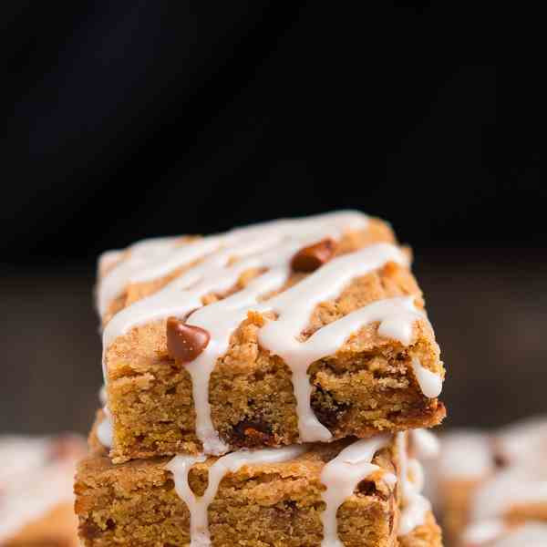 cinnamon pumpkin cookie bars