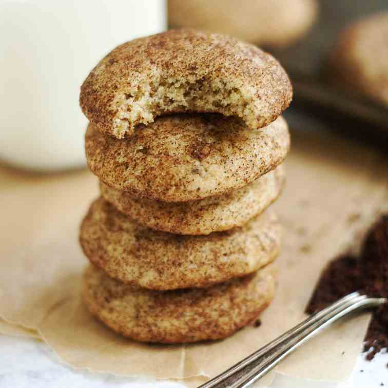 Coffee Snickerdoodles