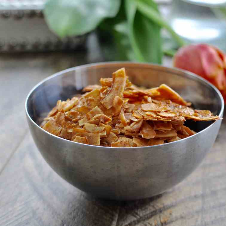 Salted Maple Coconut Chips