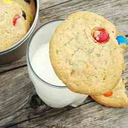 The Best M&M Cookies