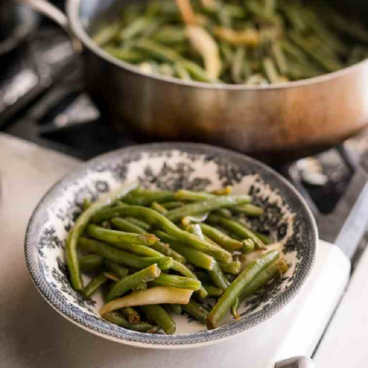 Easy Chinese Green Beans Stir-Fry Recipe